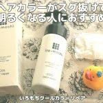 いろもちiro-mochi効果が高い!毛先の髪色が抜けて明るくなる問題を解決(ヘアカラー代節約)