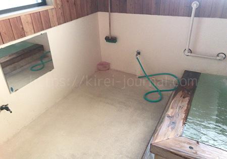 恵乃湯(めぐみのゆ)洗い場