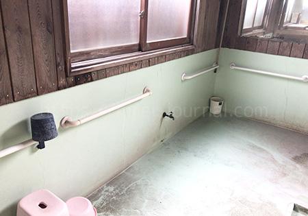 睦乃湯(むつみのゆ)洗い場