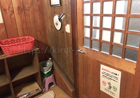 煮川乃湯(にかわのゆ)脱衣所